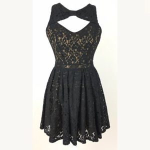 Material Girl Junior Lace Dress